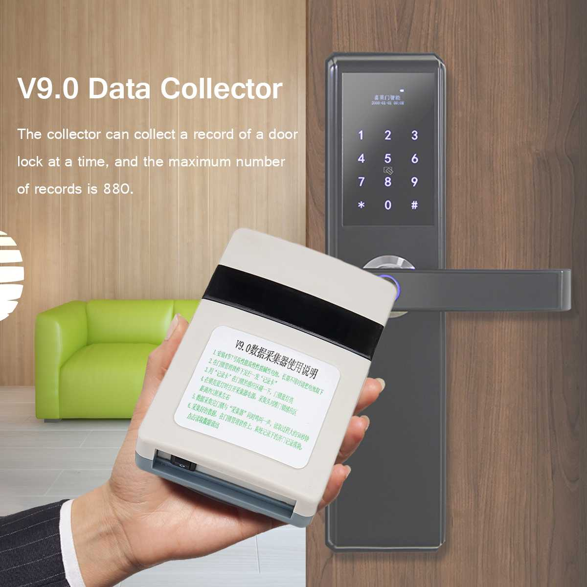 For T5557 Smart Card V9.0 Data Collector Hotel Card Lock Managment System Reader Intelligent Setting Record USB IdentificationFor T5557 Smart Card V9.0 Data Collector Hotel Card Lock Managment System Reader Intelligent Setting Record USB Identification