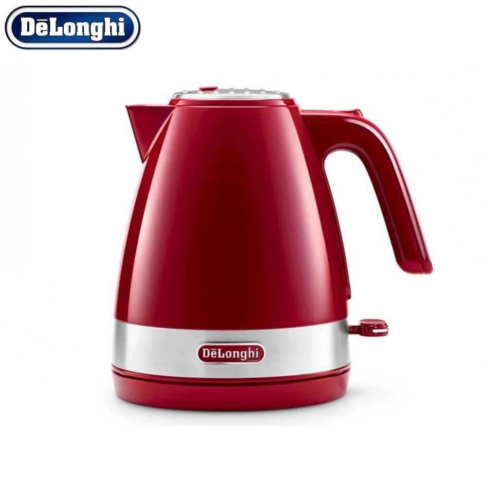 лучшая цена Electric Kettles Delonghi KBLA 2000.R home kitchen appliances kettle make tea