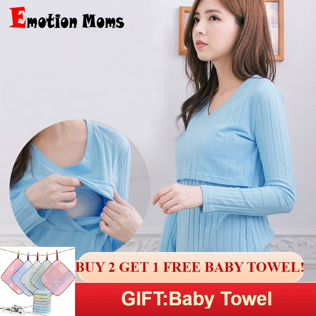 9548260f745 Emotion Moms Fashion Maternity Clothes Nursing Top Breastfeeding Tops for Pregnant  Women Maternity T-shirts feeding clothing