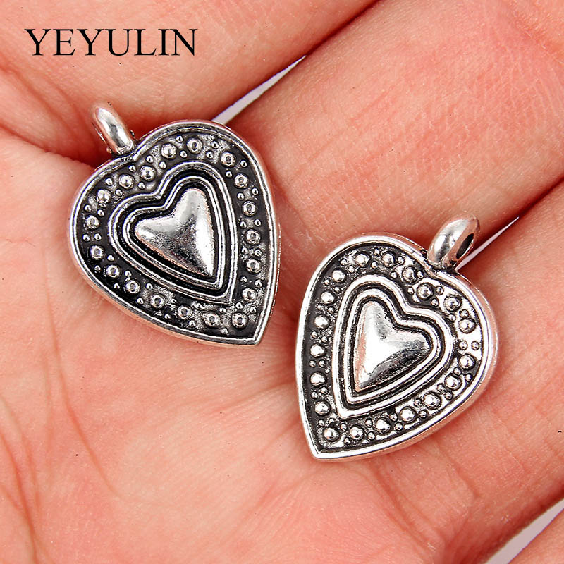 10pcs Silver Color Pendant Flying Bat Shape Charms Handmade Jewelry Accessories