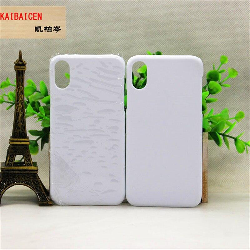 Mixture 3D Blank Sublimation Matte Glossy plastic phone case 100pcs lot