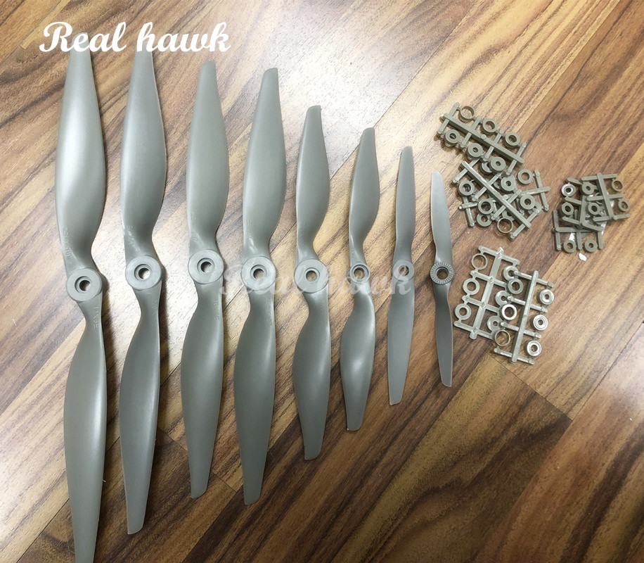 2pcs 12x6/12x8/13x6.5/14x7/15x8/16x8/16x12/17x8/17x10 Nylon Glass Fiber Electric Propeller RC Model Replace APC