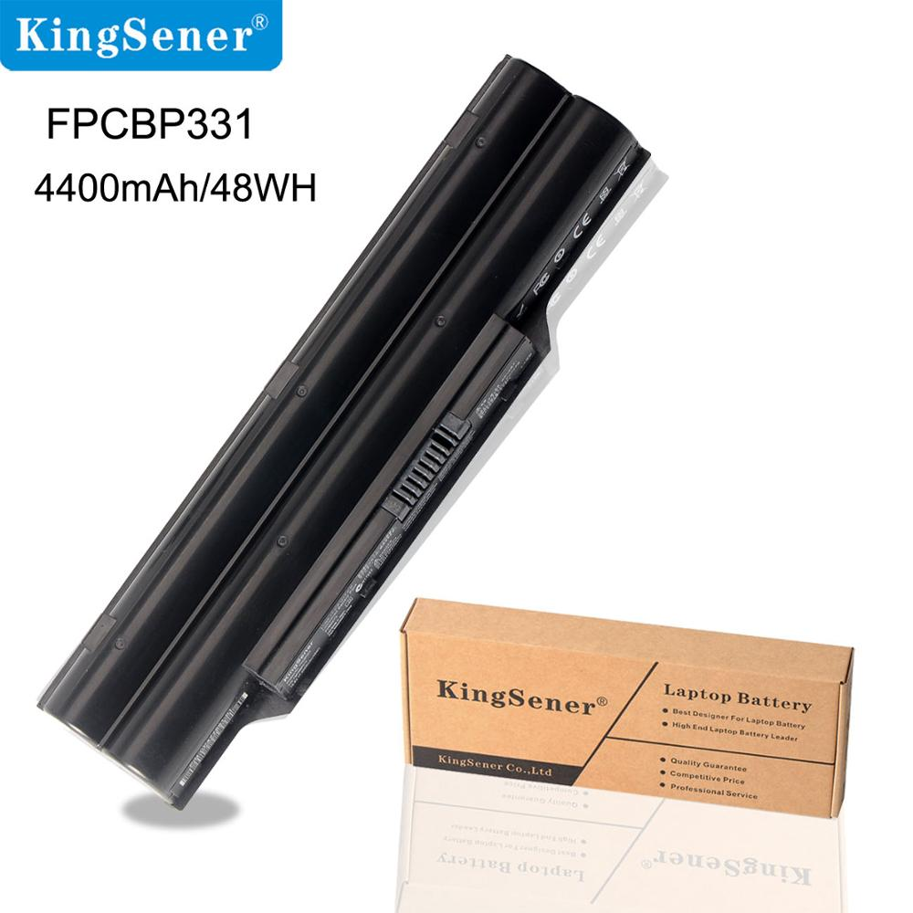 KingSener Japanese Cell FPCBP331 Batteri för Fujitsu LifeBook A532 AH512 AH532 AH532 / GFX FPCBP331 FMVNBP213 FPCBP347AP 4400mAh
