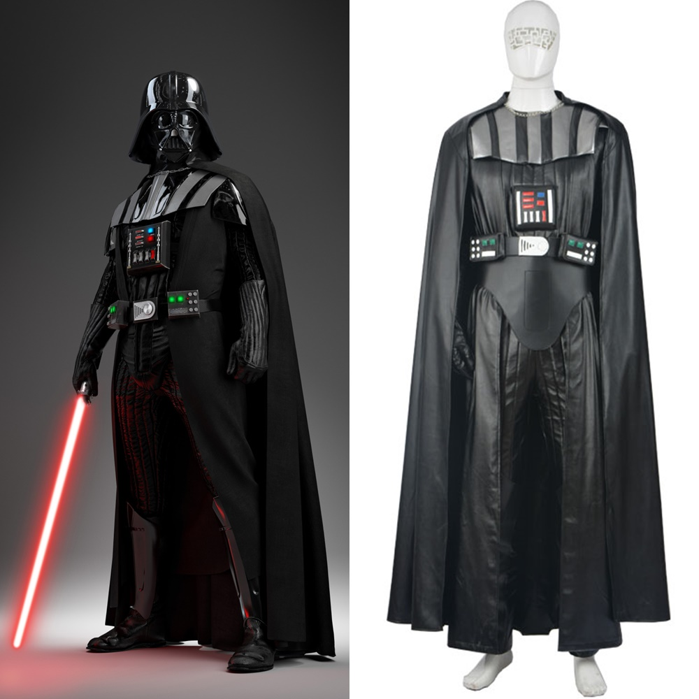 Star Wars Darth Vader Cosplay Costume Halloween Outfit