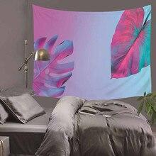 Nordic банановый лист гобелен йога пляжное полотенце скатерть диван наборы пляжное полотенце