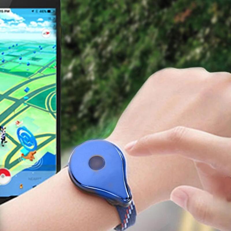 Bracelet de jeu alloygraine Bracelet Bluetooth montre Bracelet accessoires de jeu pour Nintendo Pokemon Go Plus balle rappel USB Charge