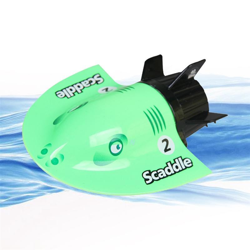 Eine GroßE Auswahl An Waren blau & Grün ZuverläSsig Mini Elektrische Radio Submarine Fernbedienung Racing Boot Schiff Submarine Spielzeug Kühlen Aquatische Spielzeug