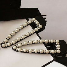 Sale 1PC White Imitation Pearl Women Hair clip Alloy Hairpin Toothed Fashion accessories
