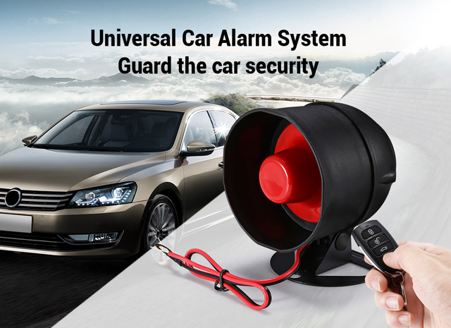 Cheap Zeepin LB - 102/L317 2 Way Car Alarm System Remote Central Anti-theft with Remote Controller DC 12V Universal