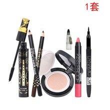 MENOW Mino макияж набор из четырех предметов тушь для ресниц Подушка губная помада набор подводок для глаз 4190