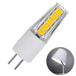 G4 2 W AD/DC12V Замена энергосберегающая керамика Светодиодная лампа желтая штифт лампа Главная лампы Прямая доставка #0214