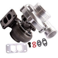 T70 Turbo Turbocharger .70 A/R 4 BOLT Exhaust Downpipe Flange T3 Flange 500+HP Oil Cooled