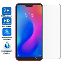 цена на Protective glass for xiaomi 9 se a2 lite Mi A1 Mi 5X 6X Mi 8 screen protector tempered glass for xiaomi redmi 6A Note 6 Pro