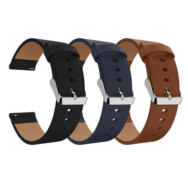 Replacement Sport Leather Wristband Bracelet Band Strap Belt for Fitbit Versa Smart Watch Smart Accessories
