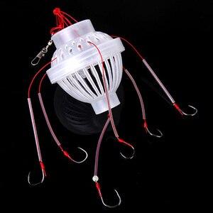 Image 4 - 야외 낚시 태클 바다 낚시 상자 후크 괴물 6 날카로운 낚시 후크와 함께