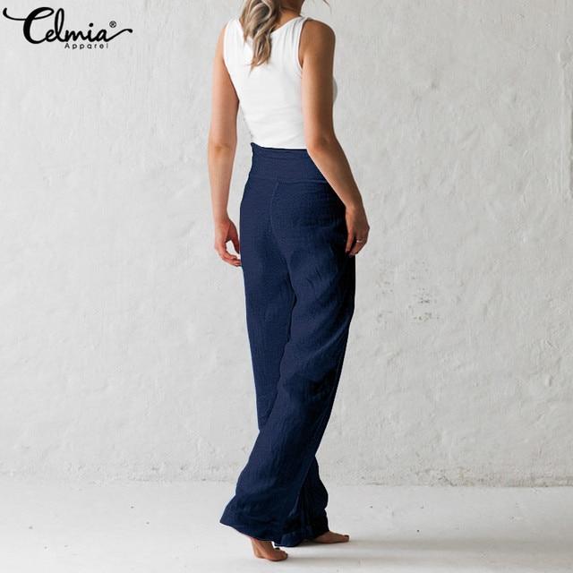 Vintage Linen Wide Leg Pants 4