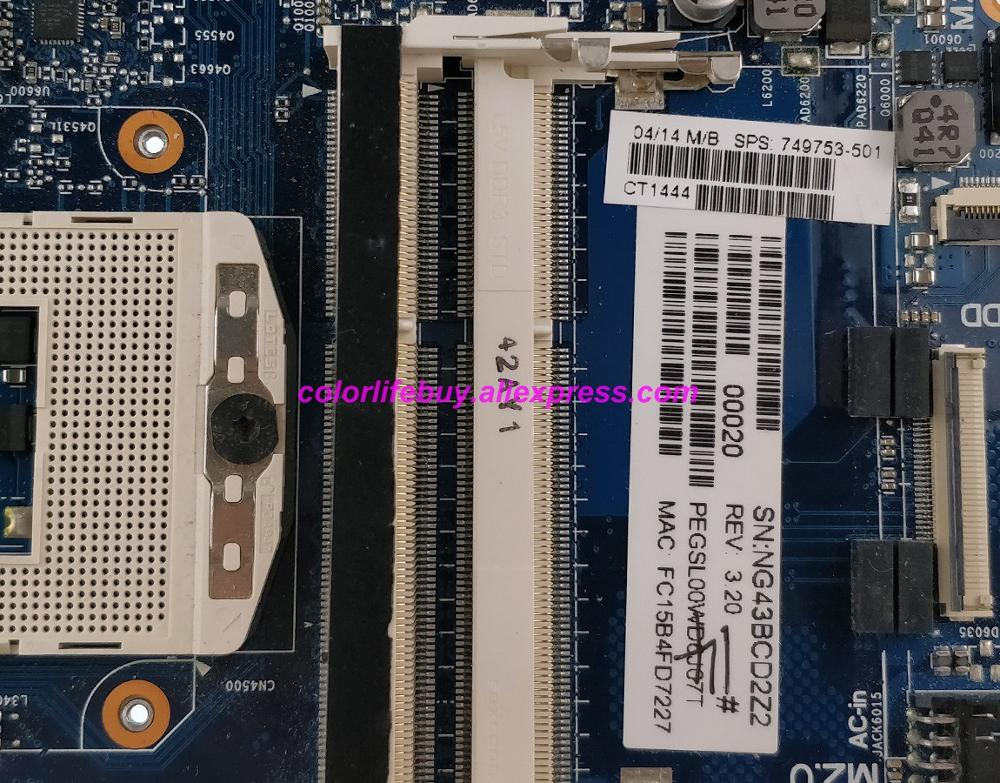 Image 3 - Genuine 749753 501 749753 601 749753 001 840M/2G HM87 Laptop Motherboard Mainboard for HP Envy 15 J 15T J100 Series Notebook PC-in Laptop Motherboard from Computer & Office