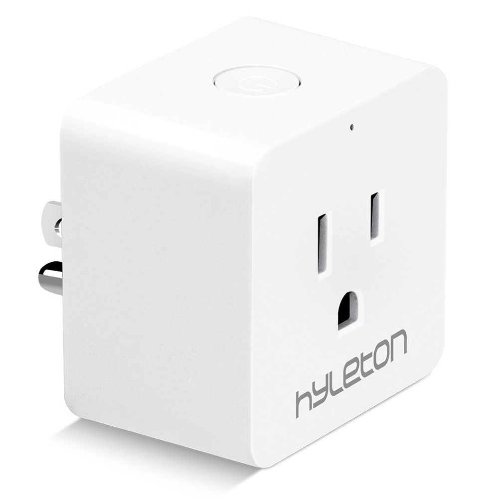 Hyleton Wifi Smart Plug Smart Home Socket 10A Voice Control Household Appliances,Works With Amazon Alexa and Google Assistant
