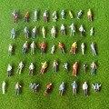 Архитектурная масштабная модель поезд макет масштаб 1:100 улица пассажиры Окрашенные фигуры для ландшафтных моделей изготовление - фото