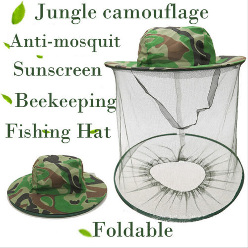 Apparel Accessories Independent 2019 Fishing Beekeeping Net Hat Jungle Anti-mosquit Bee Keep Equipment Fishing Sunscreen Mesh Cap To Adopt Advanced Technology Men's Hats