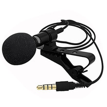 Besegad 5 pièces Lavalier Microphone mousse couverture pare-brise pare-brise coupe-vent pour Mini Clip-on cravate Lavalier Microphone Mic(China)
