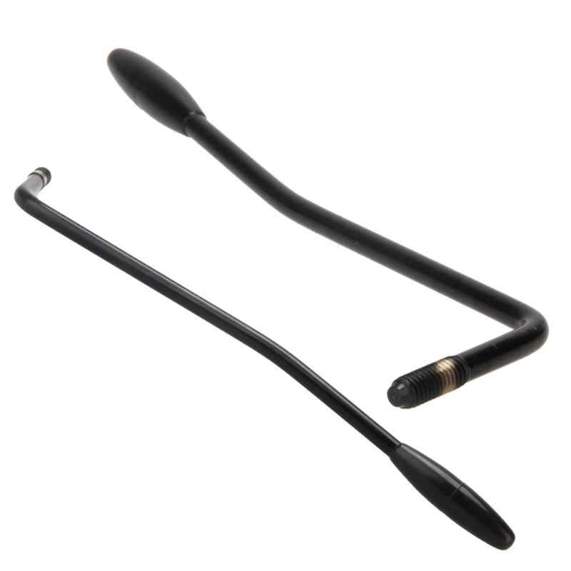 Professional Guitar Parts and Accessories 6mm Tremolo Arm Whammy Bar Arm for Electric Guitar Black White High Quality Iron