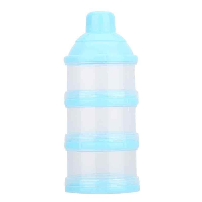 Портативный молочный детский пищевой контейнер для хранения Детские бутылочка для кормления коробка для детей Дети Малыш три сетки детское питание коробка для хранения
