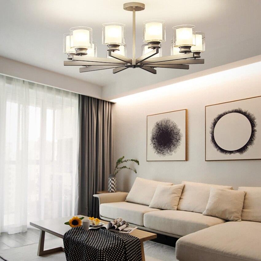 Nordic Loft Led Pendant Light Crystal Pendant Lamps Bedroom Living Room Restaurant Coffee Lighting Kitchen Fixtures Luminaire|Pendant Lights| |  - title=