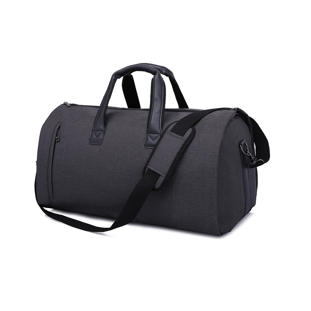 Men Large Travel Bags Foldable Duffle Bag Business Weekend Bags Oxford Suit Protect Cover Women Travel