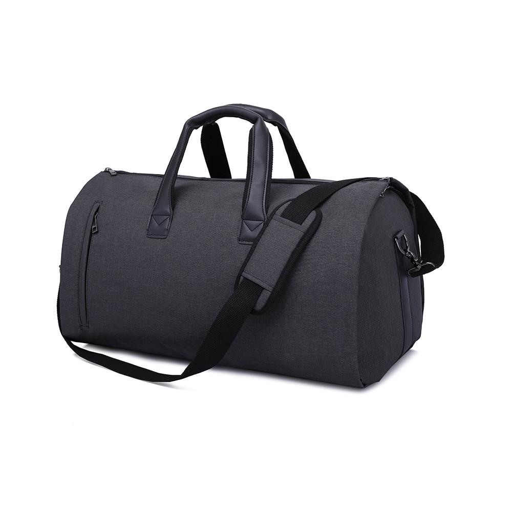 Men Large Travel Bags Foldable Duffle Bag Business Weekend Bags Oxford Suit Protect Cover Women Travel Bag Organizer Handbags