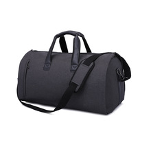 Men Large Travel Bags Foldable Duffle Bag Business Weekend Bags Oxford Suit Protect Cover Women Travel Bag Organizer Handbags