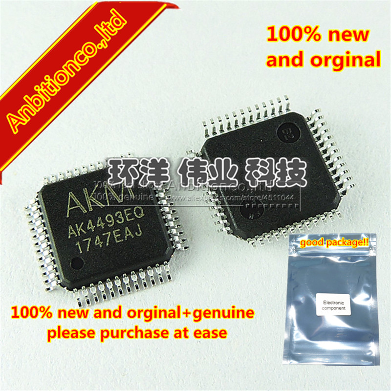 US $12 0 |1pcs 100% new and orginal AKM AKM4493 AK4493 AK4493EQ 123dB  768kHz 2ch DAC in stock-in Phone Accessory Bundles & Sets from Cellphones &