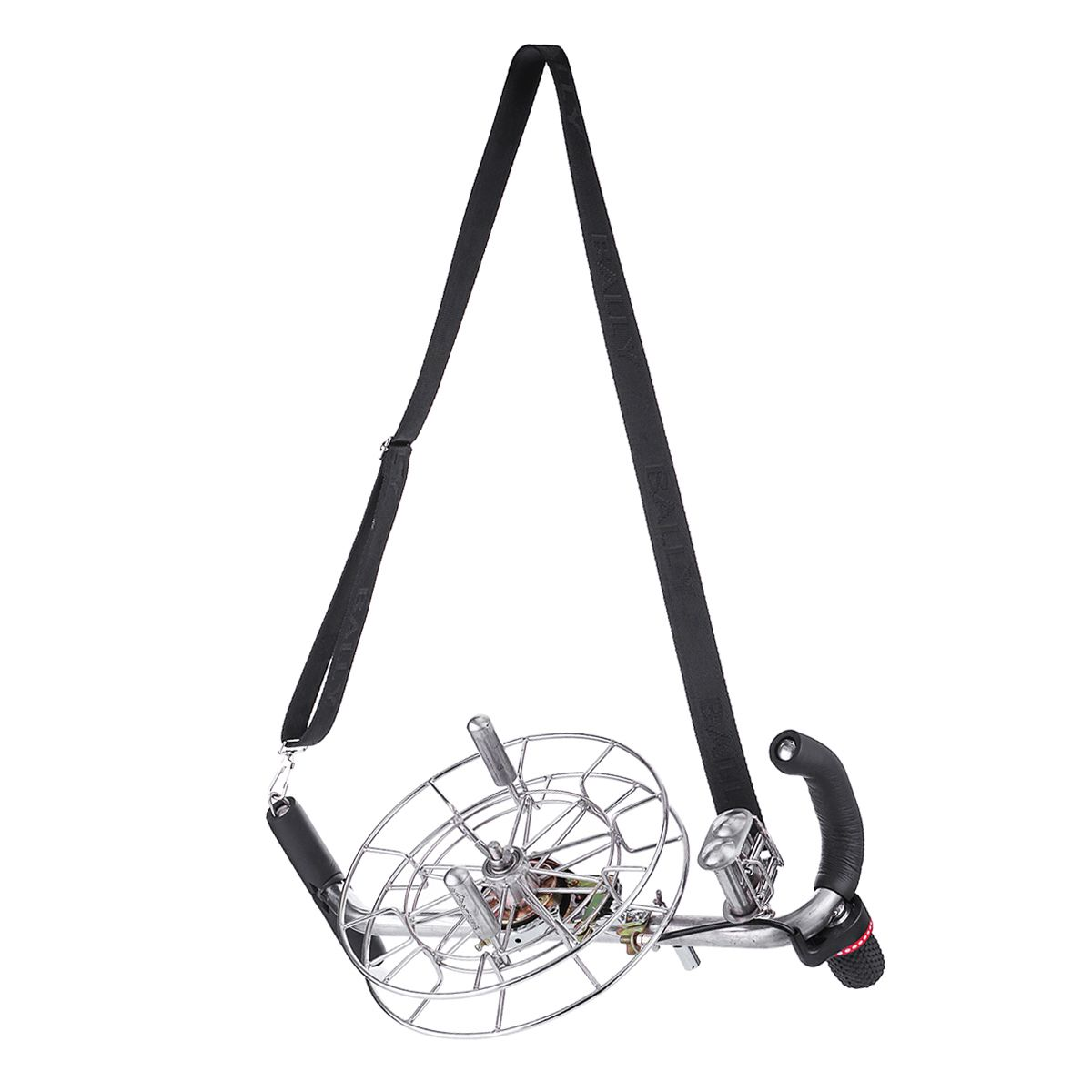 26/28cm 4 Roller Stainless Kite Line Winder Reel Silent String Ball Bearing Brake For Parafoil Flying Kite with a Shoulder Strap