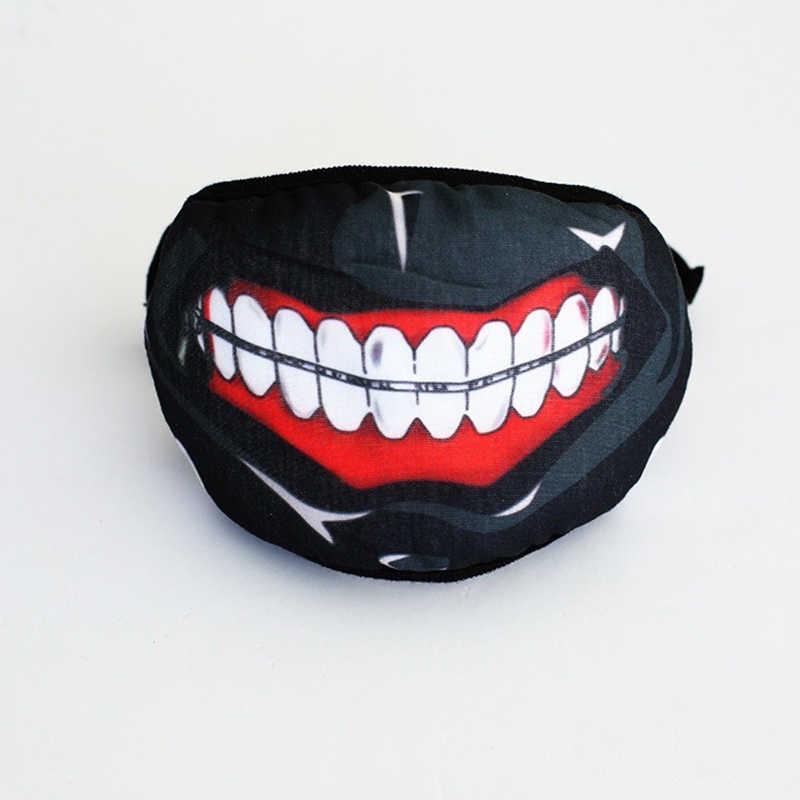 76edb43c3 ... New Fashion Tokyo Ghoul Mouth Mask OF Dust Mask Anime Cartoon Masque  Anti Pollution Man ...