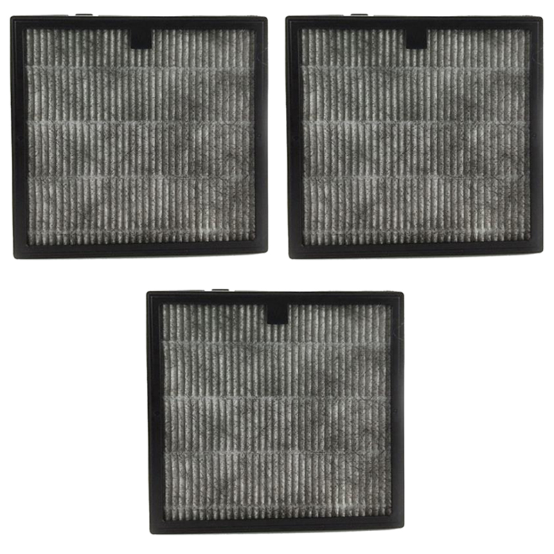 3Pcs Fil500 Activated Carbon Car Air Filter For Philips Air Purifier Aca301/251/259 Cp100/200 Cp180 Cp50 Parts Accessries Repl