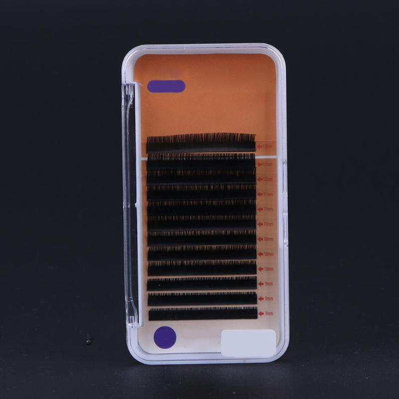 0 10 mm B C Curl Silk Protein Eyelashes Natural Soft False Eyelashes Planting Fake Eyelash Extensions Silk Lashes Fake Eyelashes in False Eyelashes from Beauty Health