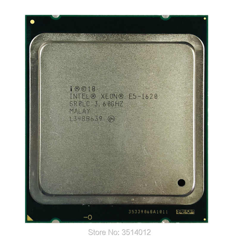 Intel Xeon E5-1620 E5 1620 3.6 GHz Quad-Core Eight-Thread CPU Processor 10M 130W LGA 2011