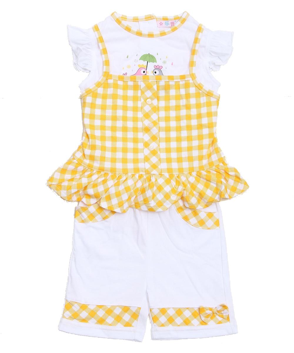 2019 Modna dječja odjeća Set za malu djecu Djevojka odjevena 3 - Odjeća za bebe - Foto 5