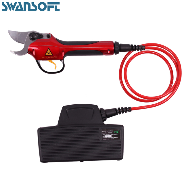 Domestic flower pruning machine garden horticultural tools Lithium Electric scissors