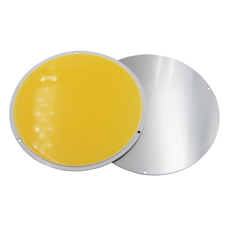 Купить с кэшбэком 12V DC 160mm Round LED COB chip light source big sun 200W High Powr Warm White LED FLIP Chip For auto light cob led strip bulb
