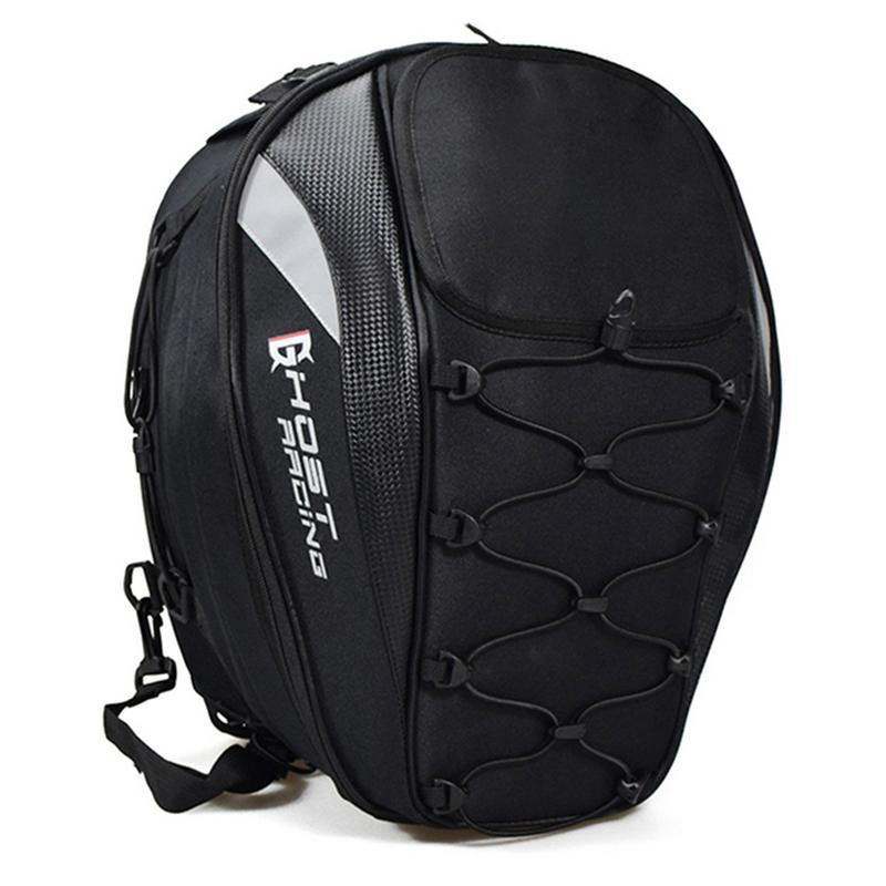 Motorcycle Tail Bag Waterproof Multi Function Bag Racing Rear Seat Bag Motorcycle Backpack Locomotive Riding