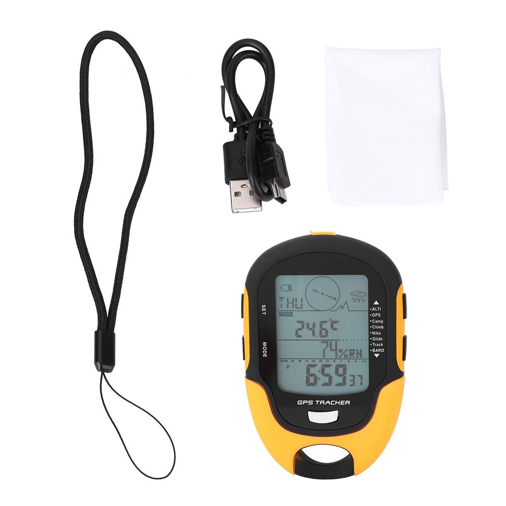 Waterproof Multifunction LCD Digital Altimeter Barometer Compass Torch Portable Outdoor Camping Hiking Climbing GPS Tools