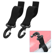 2pcs Kayak Paddle Clip Storage Holder Canoe Boat Oar Strap Webbing Fishing Rod Keeper