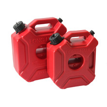 5L Litre Mount Motorcycle Spare Fuel Tank Jerry Cans Plastic Car Petrol Tanks Jerrycan Oil Container Backup Can