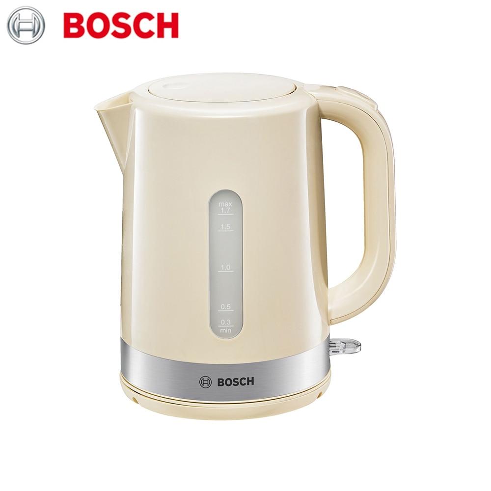 лучшая цена Electric Kettles Bosch TWK7407 home kitchen appliances kettle make tea