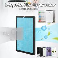AUGIENB HEPA Filter High Efficiency Composite Replacement Filter for Model 505 Purifier Filter 5 Stage for PM2.5 Smoke Dust Mold