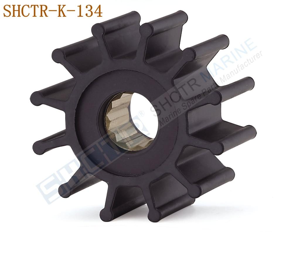 SHCTR Flexible Impeller For NIKKISO F15CBC,YANMAR 127610-42270 129470-42530 42531 42532,JMP 7100,DJ Pump 08-21-1201