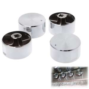 Burner Handles Oven Gas-Stove Round-Knob Rotary-Switches Kitchen-Parts 4pcs