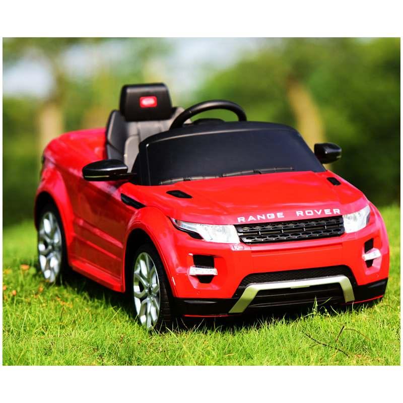Poussette électrique à quatre roues pour enfants balade en voiture jouet peut s'asseoir sur une voiture télécommandée à double entraînement - 2