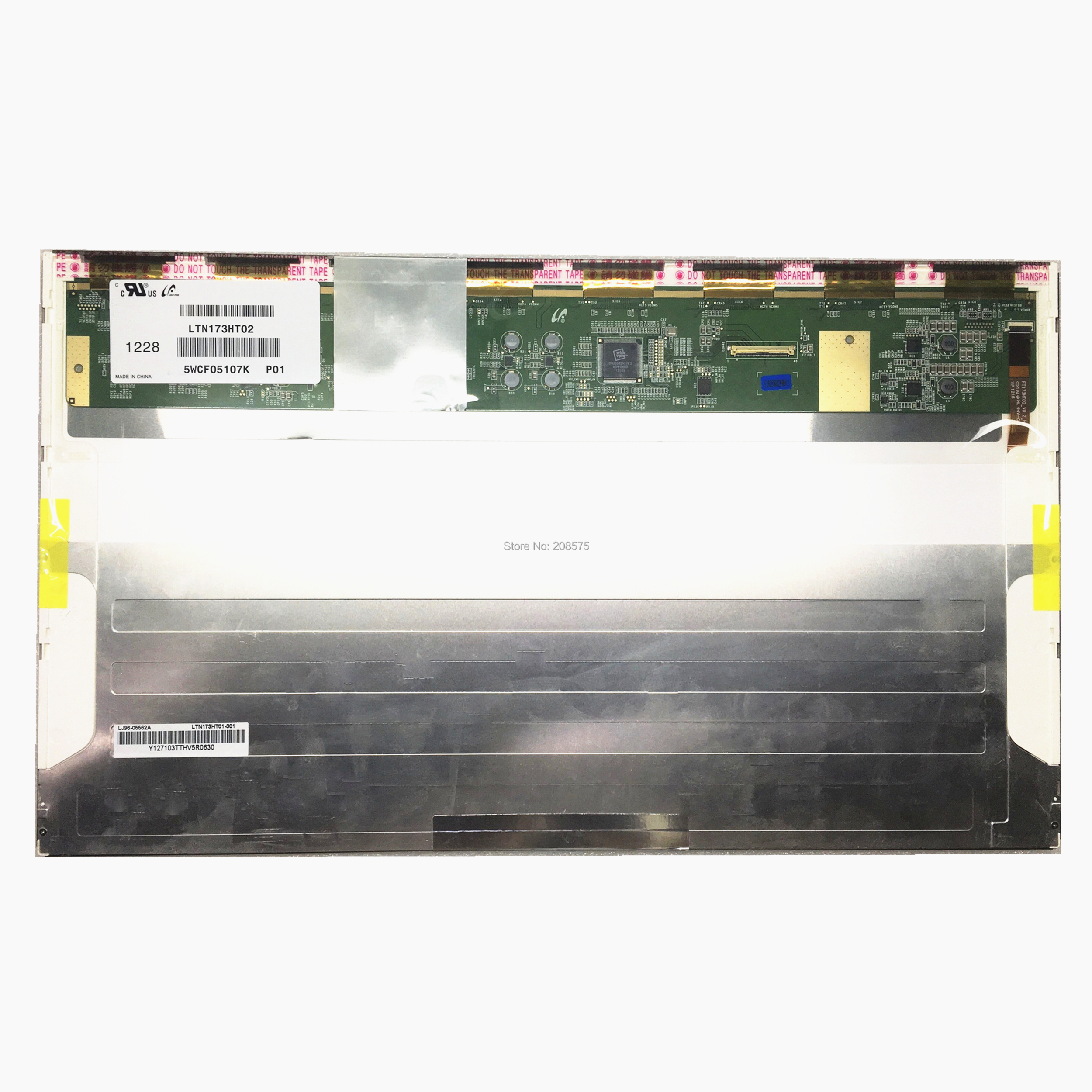 Free Shipping LTN173HT02 P01 for Dell Inspiron 17R 7720 Samsung <font><b>NP700G7C</b></font> NP700G7A ASUS 3D Lcd Screen 1920*1080 image